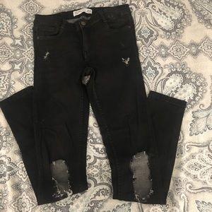 Zara Trafaluc Black Jeans Size 6